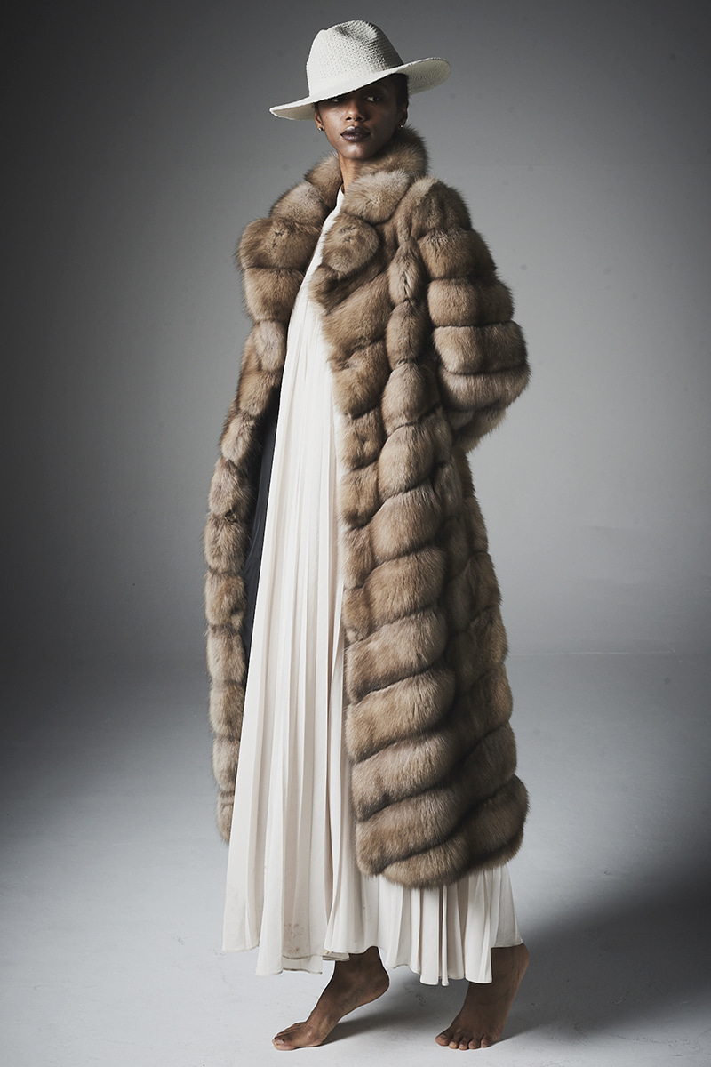joosloloo제작상품 > Reversible Russian Sable Coat