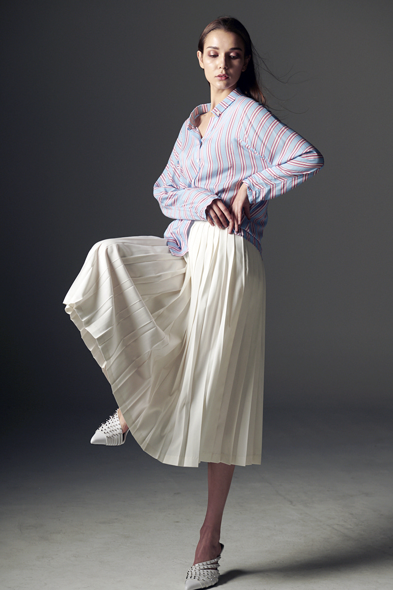 JOOSOOLOO > PLEATS SKIRT